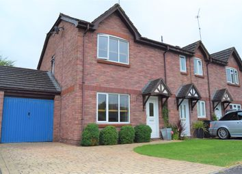 Thumbnail 3 bed end terrace house for sale in Lucerne Close, Middleleaze, Swindon