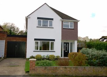 Thumbnail 3 bed detached house to rent in Cedar Close, Bagshot