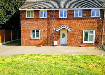 Thumbnail 4 bed semi-detached house to rent in Guntons Road, Newborough, Peterborough