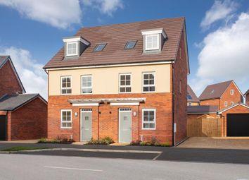 "Thumbnail 4 bedroom terraced house for sale in ""Helmsley"" at Carters Lane, Kiln Farm, Milton Keynes"