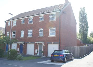 Thumbnail 4 bedroom town house for sale in Stonelodge Road, Groby, Leicester