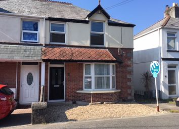Thumbnail 3 bed semi-detached house to rent in Bugle, St Austell, Cornwall