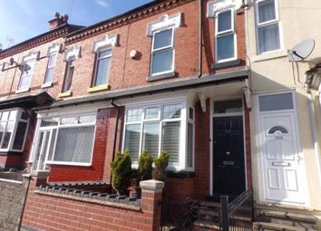 Thumbnail 3 bed terraced house for sale in Wigorn Road, Bearwood, West Midlands