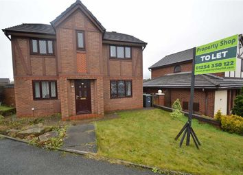 Thumbnail 4 bed detached house to rent in Foxwood Chase, Accrington