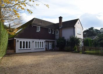 Thumbnail 4 bed detached house for sale in Linkway, Camberley, Surrey