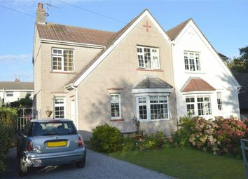 Thumbnail 3 bed semi-detached house for sale in St Peters Road, Caswell, Swansea