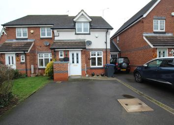 Thumbnail 2 bed semi-detached house for sale in Canal Way, Hinckley