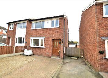 Thumbnail 3 bed semi-detached house for sale in Sandgate Drive, Kippax, Leeds