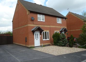 Thumbnail 2 bedroom semi-detached house for sale in Hawks Way, Sleaford