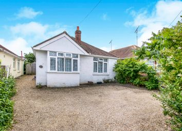 Thumbnail 2 bed detached bungalow for sale in Blandford Road, Hamworthy, Poole