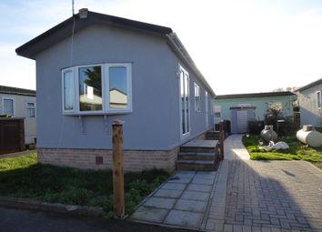 Thumbnail 2 bed mobile/park home for sale in Penton Park, Chertsey, Surrey
