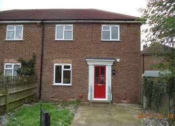 Thumbnail 3 bed semi-detached house to rent in Knoll Crescent, Hampden Park, Eastbourne