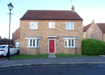 Thumbnail 4 bed detached house to rent in Leicester Crescent, Worksop