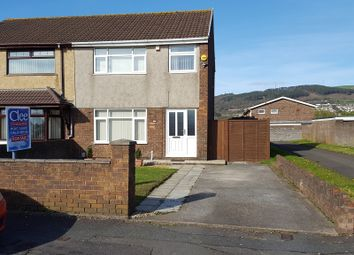 Thumbnail 3 bed semi-detached house for sale in Village Gardens, Baglan, Port Talbot, Neath Port Talbot.