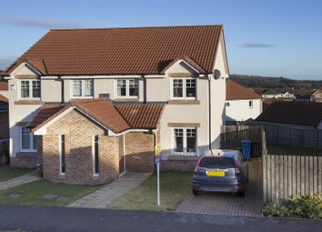 Thumbnail 3 bedroom semi-detached house for sale in St. Martin Crescent, Strathmartine, Dundee