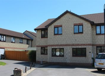 Thumbnail 3 bed semi-detached house for sale in Warrilow Close, Weston-Super-Mare, Somerset
