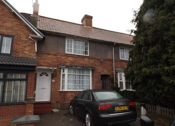3 bed terraced house for sale in Botha Road, Bordesley Green, Birmingham, West Midlands B9