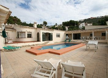 Thumbnail 6 bed villa for sale in Moraira, Valencia, Spain
