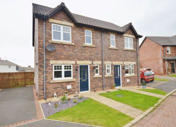 Thumbnail 2 bed semi-detached house for sale in Leander Close, Whitehaven