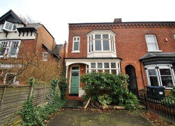 Thumbnail 4 bedroom end terrace house for sale in Featherstone Road, Kings Heath, Birmingham