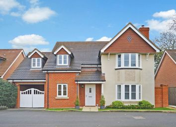 Thumbnail 4 bed detached house for sale in Mcindoe Drive, Halton Camp, Aylesbury