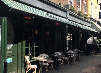 Thumbnail Restaurant/cafe to let in 13-15 Tavistock Street, London