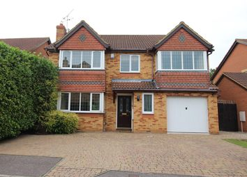 Thumbnail 4 bed detached house for sale in Gordian Way, Stevenage