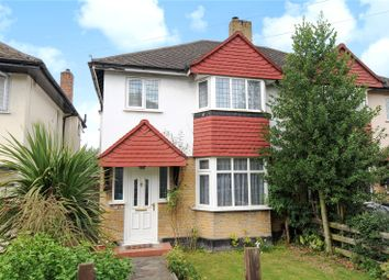 Thumbnail 3 bed semi-detached house for sale in Pine Gardens, Ruislip, Middlesex