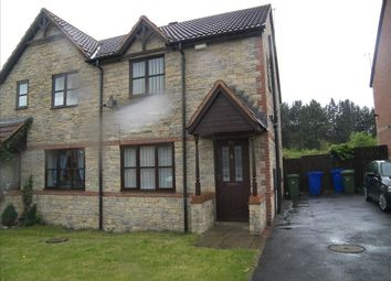 Thumbnail 3 bed semi-detached house to rent in Beech Avenue, Cramlington