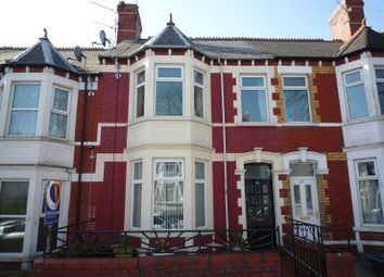 Thumbnail 4 bed terraced house for sale in Tynewydd Road, Barry