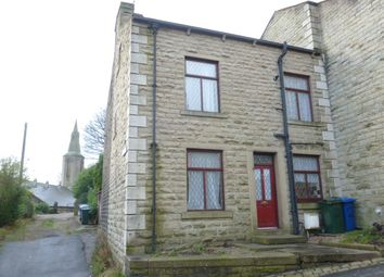 Thumbnail 3 bed end terrace house to rent in Church Street, Stacksteads, Rawtenstall