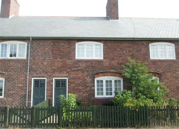 Thumbnail 3 bed terraced house for sale in Model Village, Creswell, Worksop, Nottinghamshire