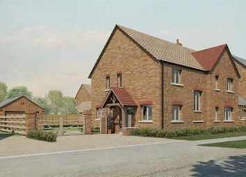 Thumbnail 4 bedroom detached house for sale in Langar Lane, Harby, Melton Mowbray