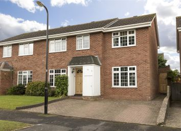 Thumbnail 4 bed semi-detached house for sale in Lisle Gardens, Bishops Tachbrook, Leamington Spa