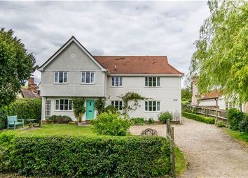 Thumbnail 4 bed detached house for sale in Yew Tree House, Shudy Camps, Cambridge