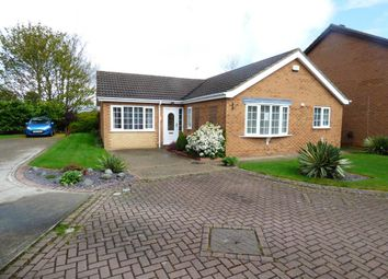 Thumbnail 4 bed detached bungalow for sale in Coltsfoot Drive, Grimsby
