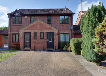 Thumbnail 3 bed semi-detached house for sale in Long Copse Chase, Chineham, Basingstoke