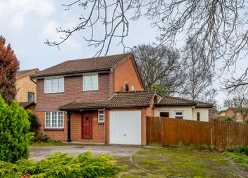 Thumbnail 4 bed detached house for sale in Jersey Close, Chertsey