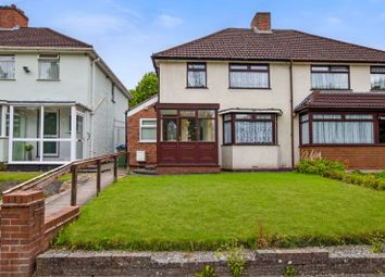 Thumbnail 3 bed semi-detached house for sale in Norman Road, Bearwood, Smethwick