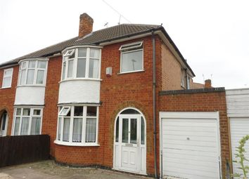 Thumbnail 3 bed semi-detached house to rent in Aberdale Road, Leicester