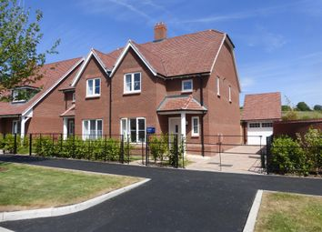 Thumbnail 4 bedroom semi-detached house for sale in Tadpole Garden Village, Tadpole Garden Village, Swindon