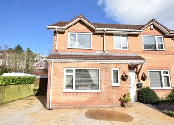 Thumbnail 4 bed detached house for sale in St. Davids Park, New Tredegar