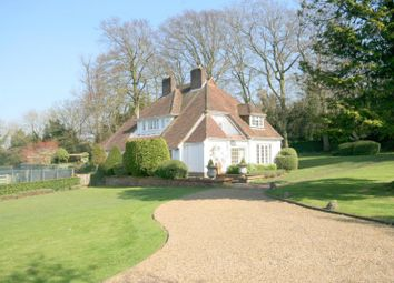 Thumbnail 4 bed detached house to rent in Burgh Heath Road, Epsom