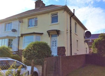 Thumbnail 3 bed semi-detached house for sale in Plymouth Road, Barry, South Glamorgan
