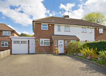 Thumbnail 3 bed semi-detached house for sale in Lullington Garth, Borehamwood