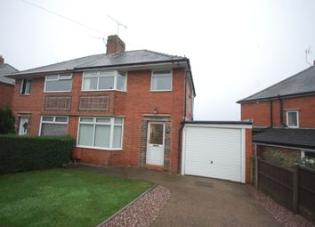 Thumbnail 3 bed semi-detached house to rent in Highbury Road, Chesterfield