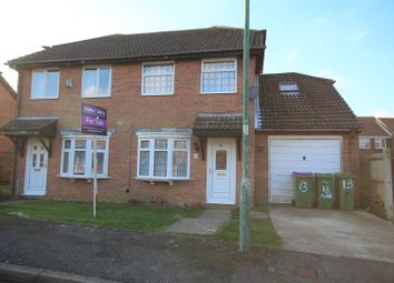 Thumbnail 3 bed semi-detached house for sale in The Meade, Folkestone