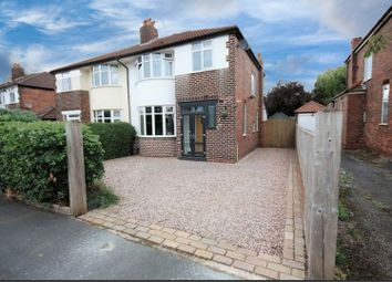 Thumbnail 3 bed semi-detached house for sale in 25 Lorraine Road, Timperley, Altrincham