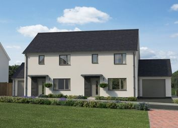 Thumbnail 3 bedroom semi-detached house for sale in Gwallon Keas, St. Austell, Cornwall