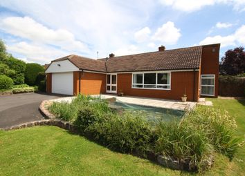 Thumbnail 4 bed detached bungalow for sale in Stoke Road, Henlade, Taunton